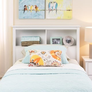 Link to Winslow White Twin Bookcase Headboard Similar Items in Kids' & Toddler Furniture
