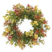 Set of 2 Eucalyptus Table or Hanging Wreath