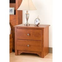 Laurel Creek Easton Cherry 2-drawer Nightstand