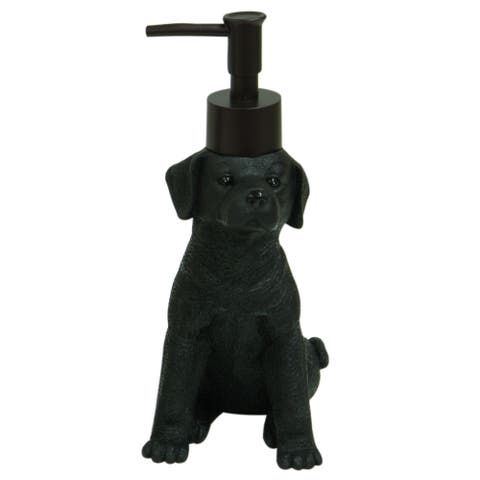 Woodland Dogs Lab Puppy soap dispenser by Bacova