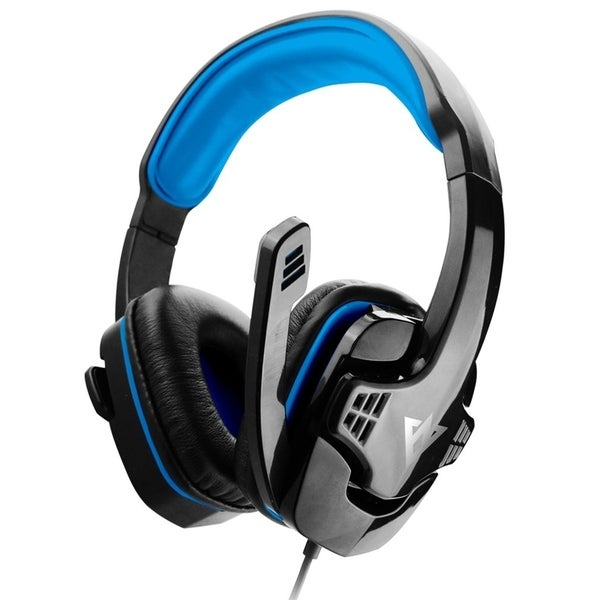 ME333 USB Gaming Headphones Black and Blue