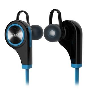 QY9 Bluetooth Headset Black Blue