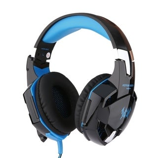 Injoo 3.5mm Gaming Headset Microphone LED Stereo Surround PC PS4Xbox
