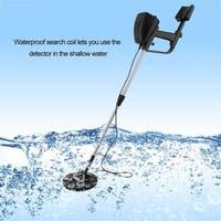 Waterproof metal detector with headphones