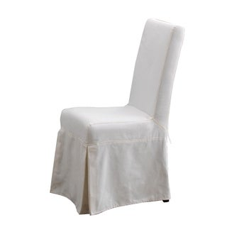 Padmas Plantation Slipcover for Pacific Beach Dining Chair - Sunbleached White