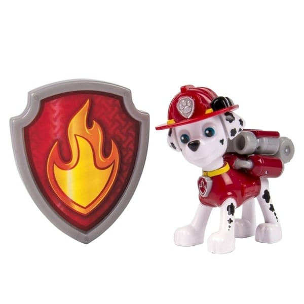 Paw Patrol Action Pup With Badge - Marshall 36699760