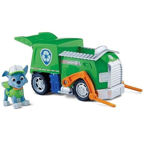 Paw Patrol Basic Vehicle - Rocky's Recycling Truck