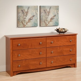 Laurel Creek Easton Cherry 6-drawer Dresser