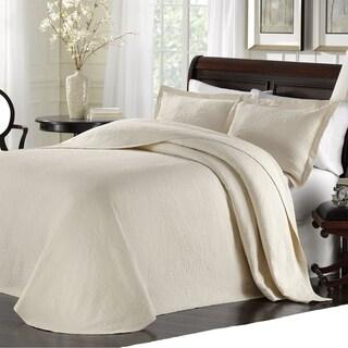 Lamont Home Majestic King Bedspread - Ivory
