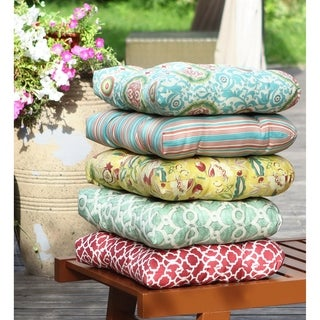 Waverly Olivia Outdoor 19-inch Dining Chair Cushion