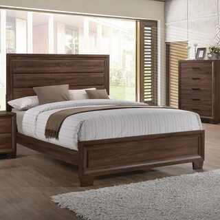 Brandon Transitional Medium Brown Bed