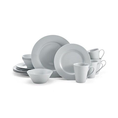 Mikasa Delray Grey 16-Piece Dinnerware Set