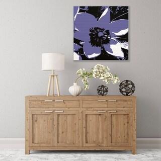 ArtWall Purple Bloom Wood Pallet Art