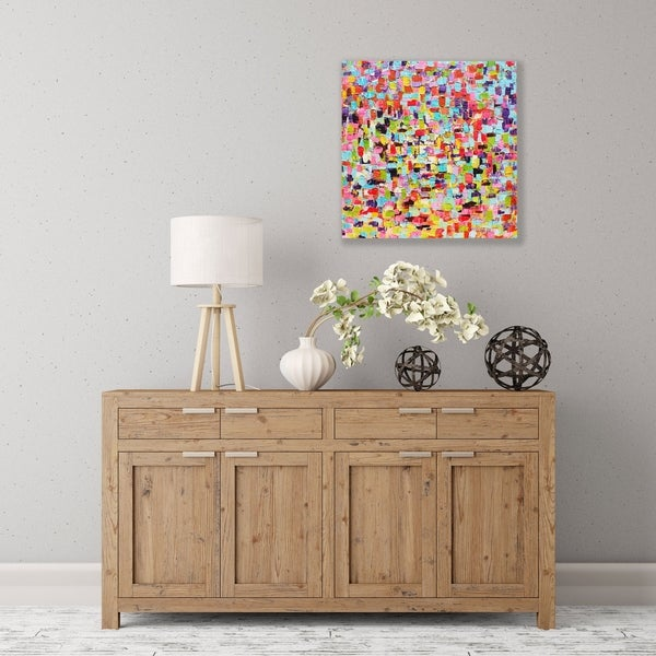 ArtWall A Touch Of Color Wood Pallet Art
