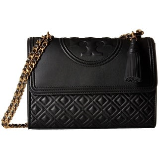 Tory Burch Fleming Quilted Leather Convertible Shoulder Bag