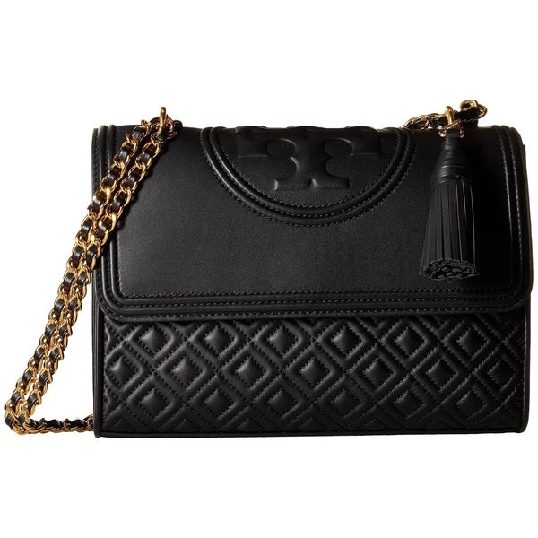 ea194e0fd Shop Tory Burch Fleming Quilted Leather Convertible Shoulder Bag ...
