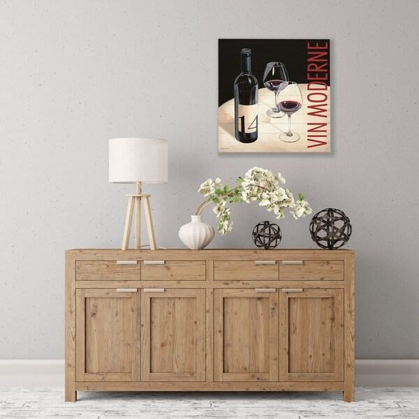 ArtWall Vin Moderne 5 Wood Pallet Art