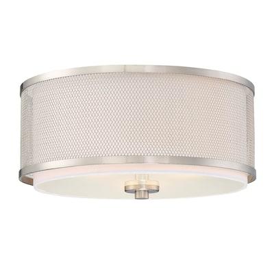 Strick & Bolton Balvin 3-light Flush Mount Ceiling Light