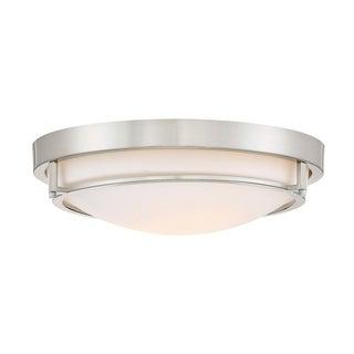 Porch & Den Weaver 2-light Flush Mount Ceiling Light