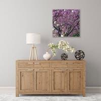 ArtWall Spring Flowers Wood Pallet Art