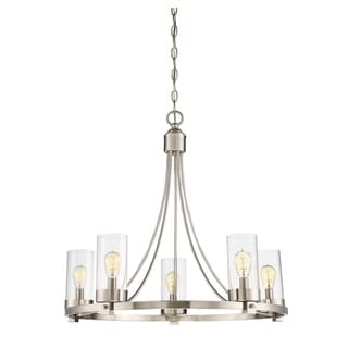 Link to Strick & Bolton Fygi 5-light Chandelier Similar Items in Chandeliers