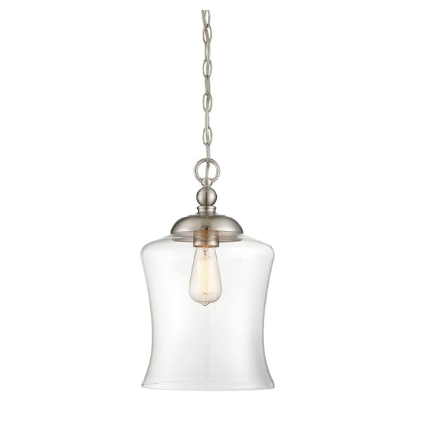 The Gray Barn Lunasa 1-light Mini Pendant - Bronze Finish/Oil Rubbed (As Is Item). Opens flyout.