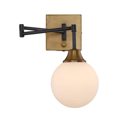 Carson Carrington Henningsvaer Oiled Rubbed Bronze 1-light Wall Sconce