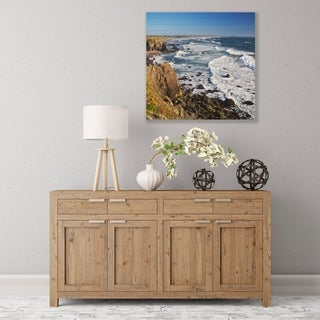 ArtWall Sonoma Coast Wood Pallet Art