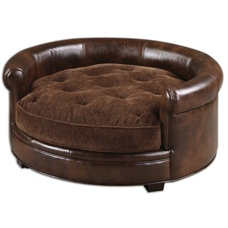 Uttermost Lucky Brown Designer Pet Bed