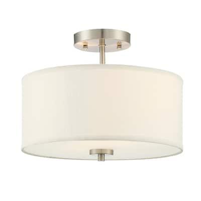 Porch & Den Wynn 2-light Semi-flush Mount Ceiling Light