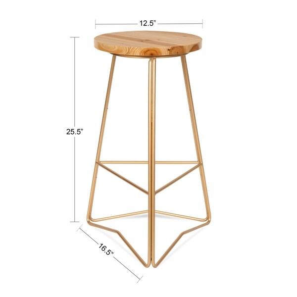 Godwin Counter Height Bar Stool - 25-inch