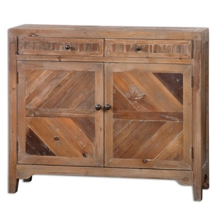Link to Uttermost Hesperos Reclaimed Wood Console Cabinet Similar Items in Living Room Furniture