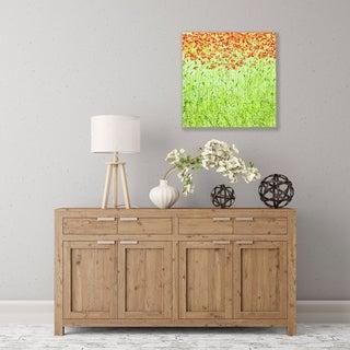 ArtWall Spring Arabesque Wood Pallet Art