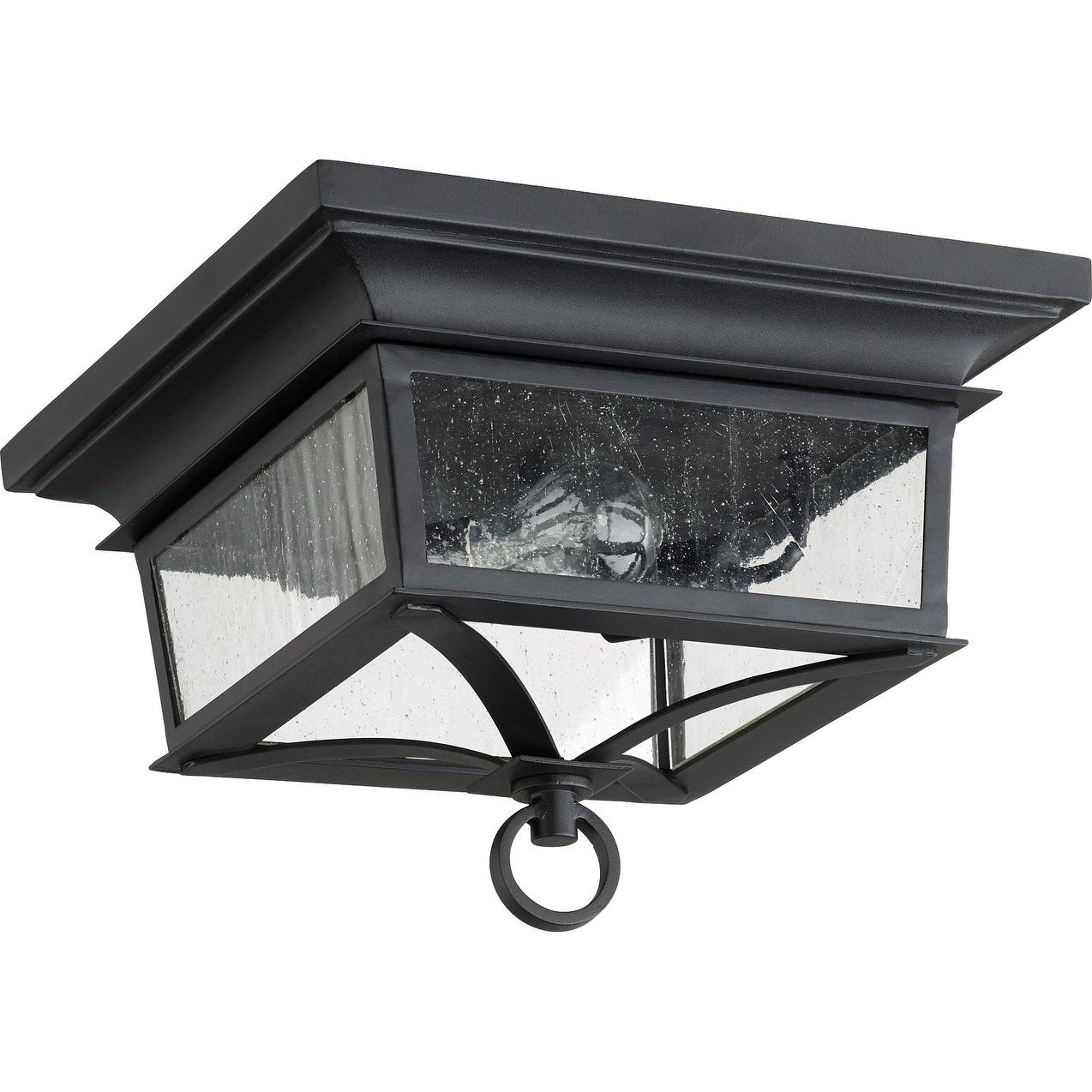 Shop Black Friday Deals On Pavilion 2 Light Outdoor Ceiling Mount Overstock 22038444