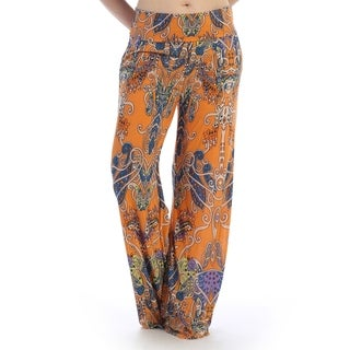 Casual wear pants thick waist line, flared cut (size-M)