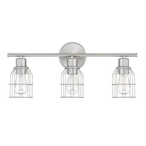 Carbon Loft Guillotin 3-light Bath Bar