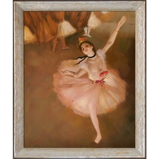 Edgar Degas 'Star Dancer (On Stage)' Hand Painted Oil Reproduction
