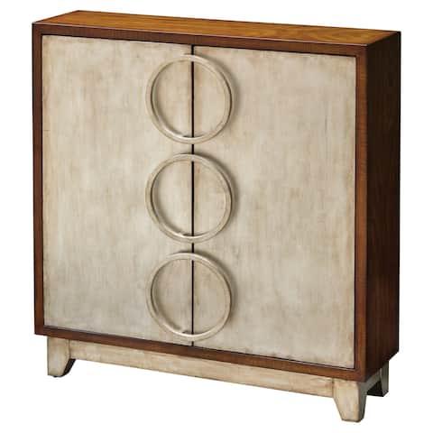 Uttermost Jacinta Dark Honey Cabinet