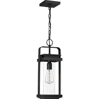 Exhibit Earth Black 1-light Outdoor Lantern