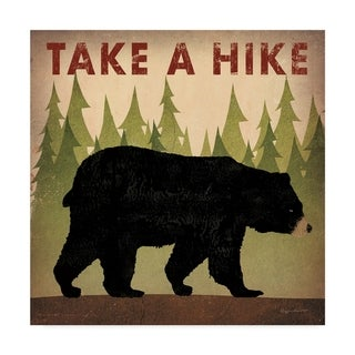 Link to Ryan Fowler 'Take A Hike Black Bear' Canvas Art Similar Items in Canvas Art