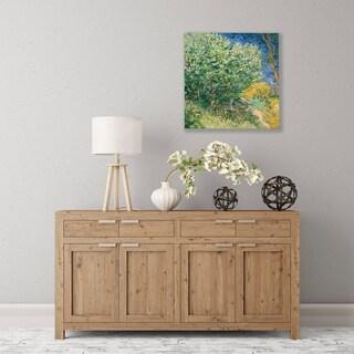 ArtWall Lilacs Wood Pallet Art