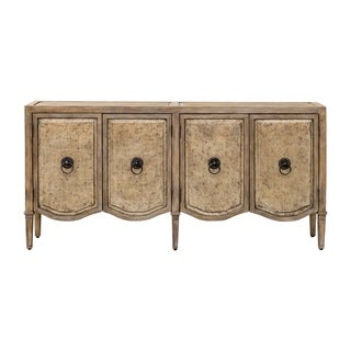 Link to Uttermost Thina Antique Champagne Console Cabinet Similar Items in Living Room Furniture