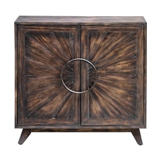 Link to Uttermost Kohana Worn Black Console Cabinet Similar Items in Living Room Furniture