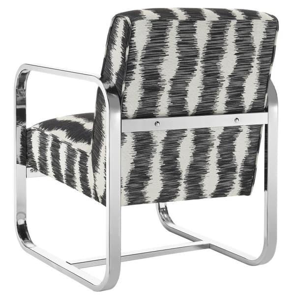Shop Modern Capri Chrome Design Black And White Pattern ...