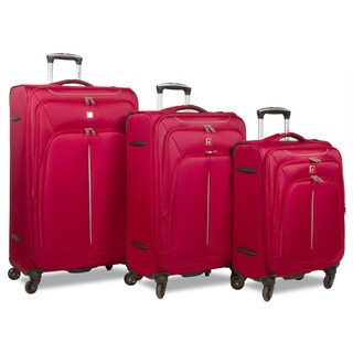 Dejuno Summit Lightweight 3-Piece Spinner Luggage Set