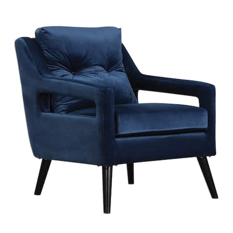 Uttermost O'Brien Antique Black Arm Chair