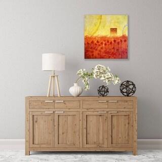 ArtWall Scarlet Creation II Wood Pallet Art