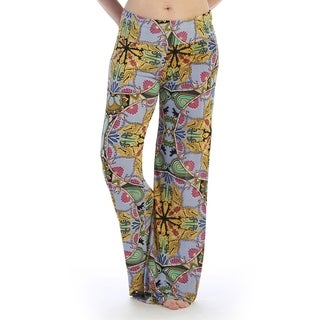 Casual wear pants thick waist line, flared cut (size-3x)