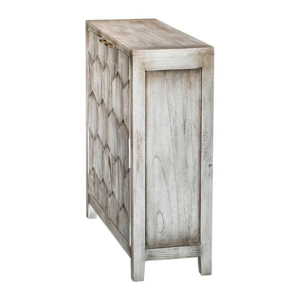 Uttermost Catori Smoked Ivory Console Cabinet. Opens flyout.
