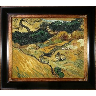Vincent Van Gogh 'Two Rabbits' Hand Painted Oil Reproduction